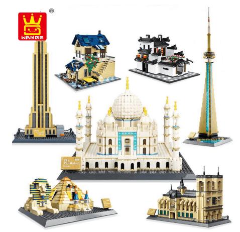 lego building fake