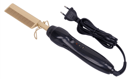 Electric comb straightener