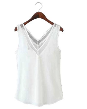 white shirt for yoga pants