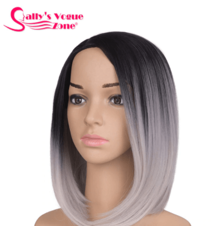 ombre fake wig aliexpress
