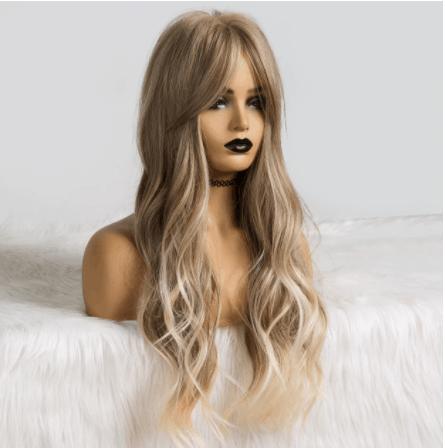 wavy hair wig aliexpress