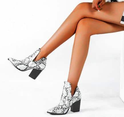 ankle boots for black dress