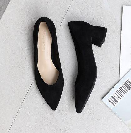 black heels for black dress