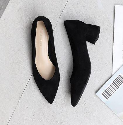 black heels for black dress
