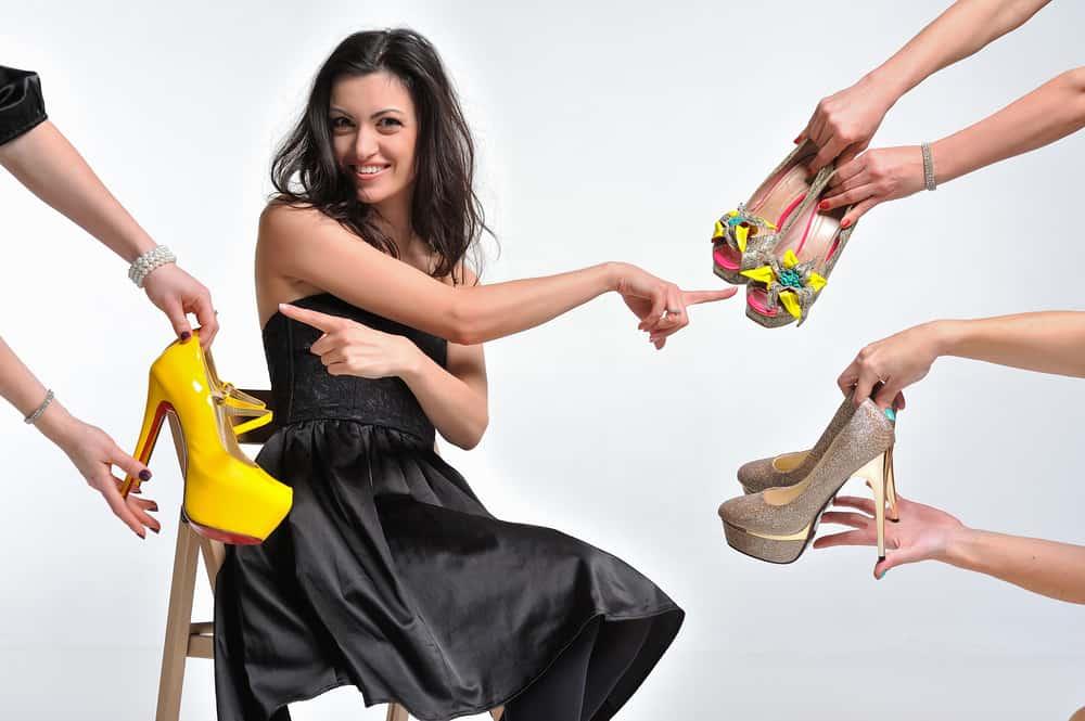 Welche Schuhe Soll Ich Zu Einem Schwarzen Kleid Tragen Best Selling Aliexpress Produkte An Ihren Fingerspitzen