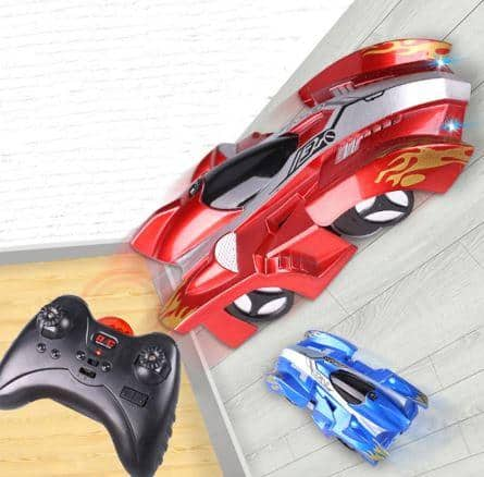 wall racing car