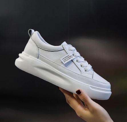 white sneakers for black dress