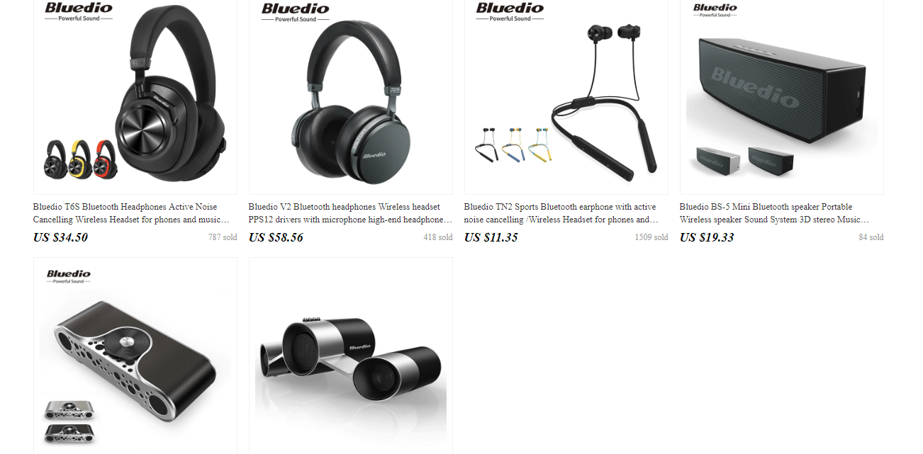 best electronic brand aliexpress