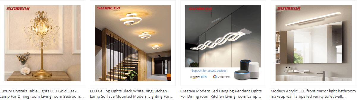 seller on home lighting aliexpress
