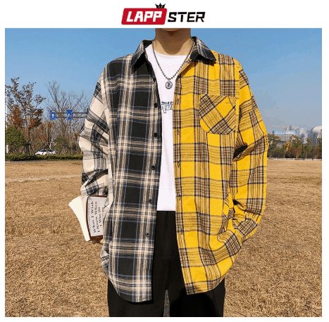 casual shirt for men on street