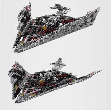 best lepin sets destroyer