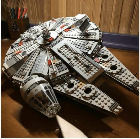 lepin star wars aliexpress  Millenium Falcon