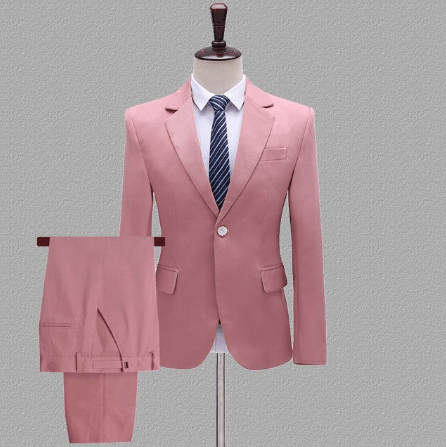 pink suits for guys