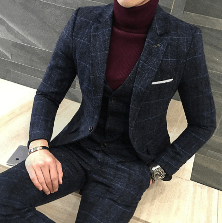 slim suit for teenage guys