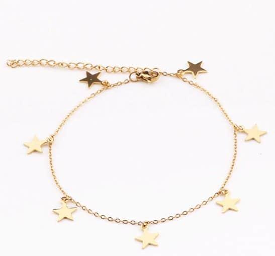 ankle bracelets in style