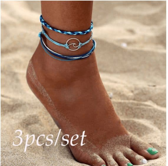 friend bracelet for ankles
