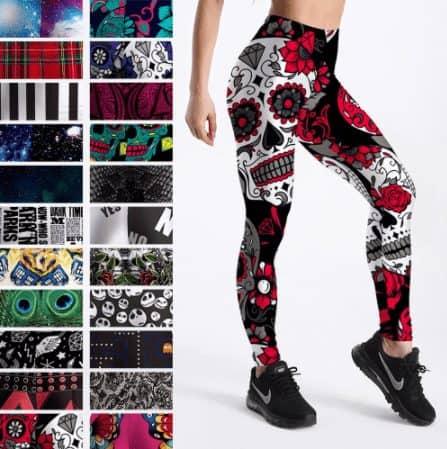 printed leggings aliexpress