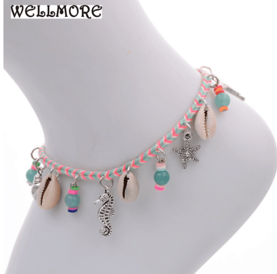 teenage anklets fashion