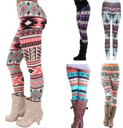 trendy leggings for fashion