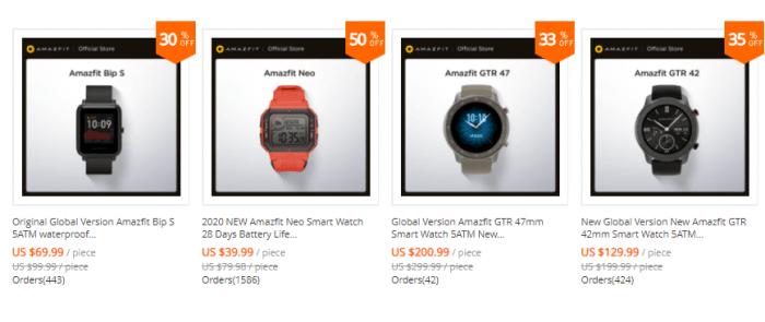best cheap smartwatch on aliexpress
