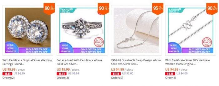best jewelry silvers china