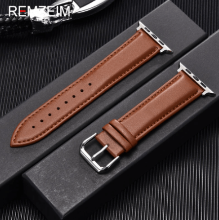 leather apple watch band under 20