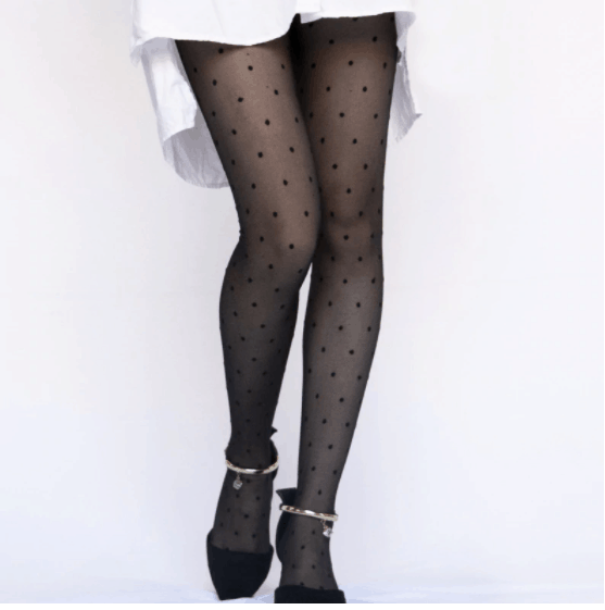 how to wear tights with dress