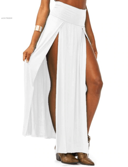 what to wear with white dress