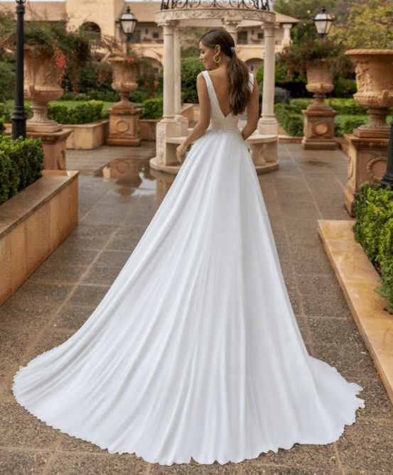affordable wedding gown on aliexpress 2021