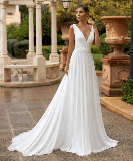 affordable wedding gown on aliexpress