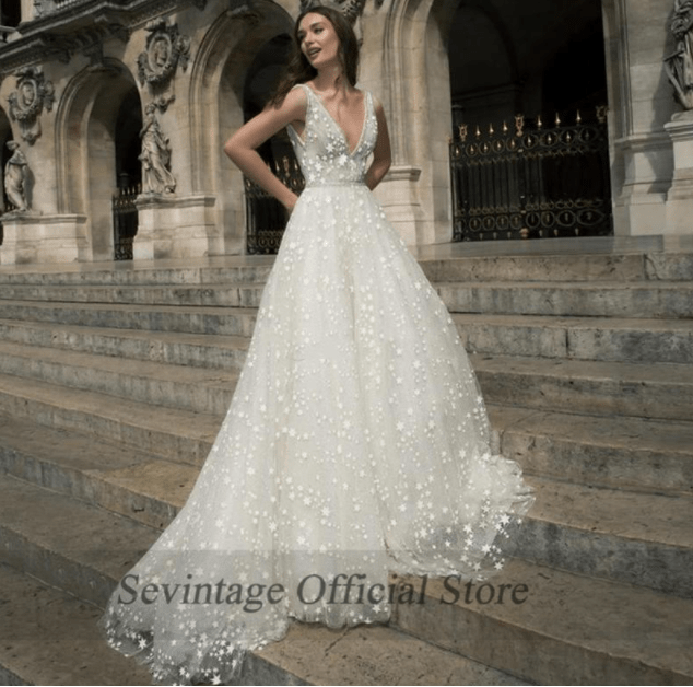 aliexpress top affordable wedding dress