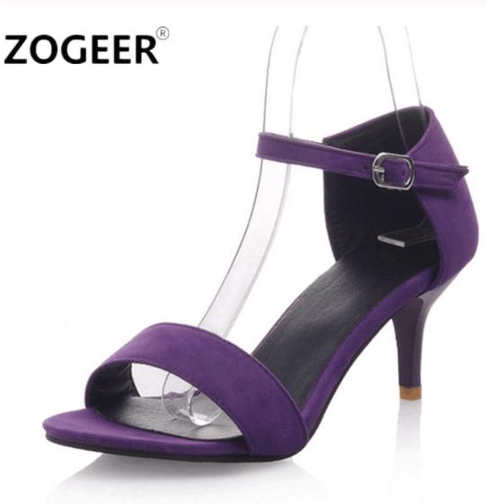 heels for color blocking