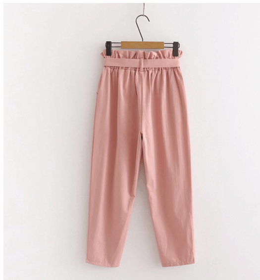 pink color blocking
