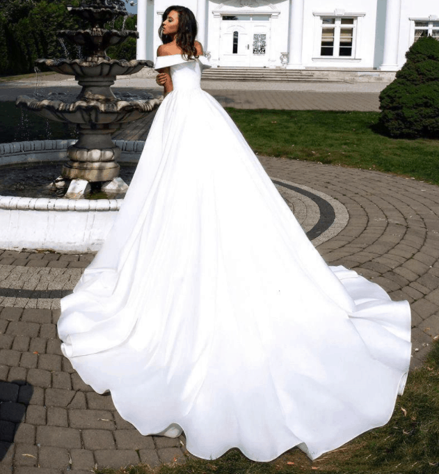 wedding gown cheap on aliexpress 2021