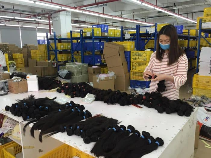 chinese best hair factories
