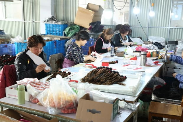famous chinese hair factories